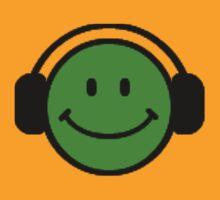 Headphone smile by Sharon Stevens