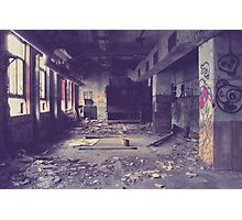 Armstrong Cork Factory - Hallway Photographic Print