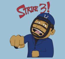 Strike Three!  (T-Shirt) by DeadFish