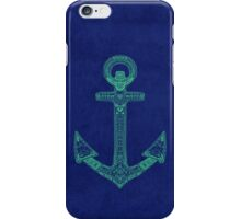 Anchor; Ornate anchor iPhone Case/Skin