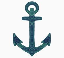 Anchor; Ornate anchor Kids Clothes