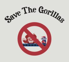 Save the Gorillas! by James Lillis
