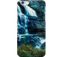 Upper Cullasaja Falls  iPhone Case/Skin