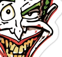 Joker Illustration Sticker