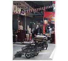 Market Barrows Poster