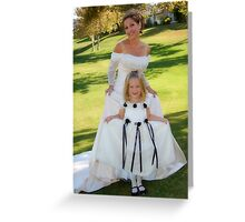 Princesses for the Day Greeting Card