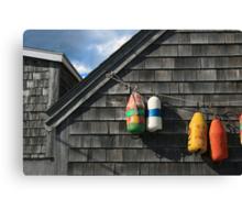 Hanging Buoys  Canvas Print