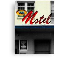 urb de motel Canvas Print