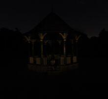 Night gazebo by Alexkeane1