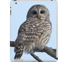 She sees right into the heart of me iPad Case/Skin