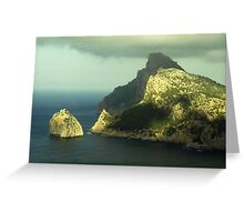 Cap de Formentor Greeting Card