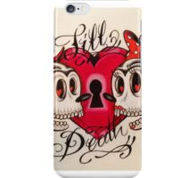 Mickey & Minnie: Till Death iPhone Case/Skin