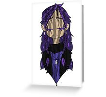 Flowergirl Willow Greeting Card