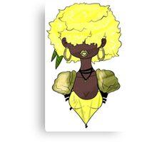Flowergirl Dandelion Canvas Print