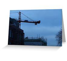 Crane on baggot street Greeting Card