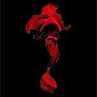 Red Rose Ariel  by Serdd