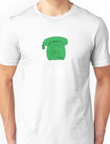 phone me green Unisex T-Shirt