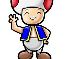 Toad! by WarpZoneGraphic