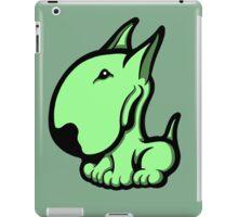 Odie English Bull Terrier Pale Green  iPad Case/Skin