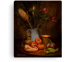 Old Masters Series (Print 8) Canvas Print
