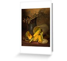 old masters series (print 10) Greeting Card