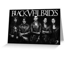 Black Veil Brides Group Picture Greeting Card