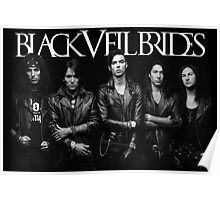 Black Veil Brides Group Picture Poster