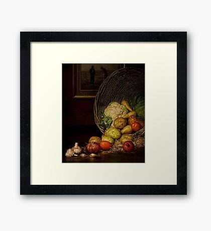 Old Masters Series (print 5)  Framed Print
