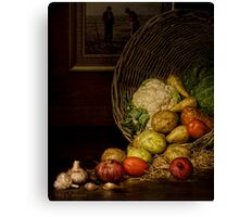 Old Masters Series (print 5)  Canvas Print