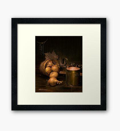 Old Masters Series (print 3) Framed Print