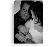 Loving hands to hold onto Canvas Print