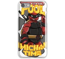Teenage Mutant Ninja Pool! iPhone Case/Skin
