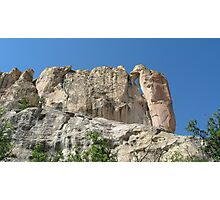 Magnifiscent El Morro, 60 miles south of Grants, NM Photographic Print