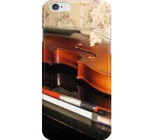 Violin Reflected iPhone Case/Skin