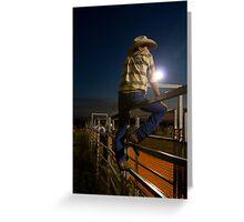 Fence Sitter • Ingham • Queensland Greeting Card
