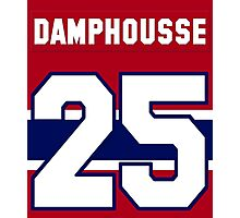 Vincent Damphousse #25 - red jersey Photographic Print