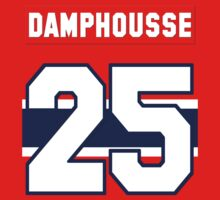 Vincent Damphousse #25 - red jersey Kids Tee