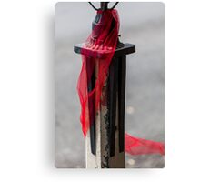 The Red Ribbon Canvas Print