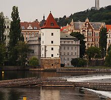 The Vltava, Prague by rononbjr