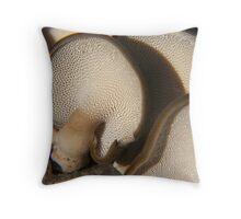 cool Mushrooms Throw Pillow