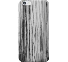 Dripping Paint in Black and White iPhone Case/Skin