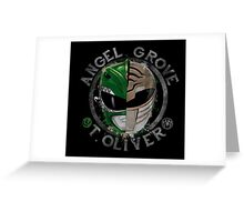 Tommy Oliver Power Rangers Greeting Card