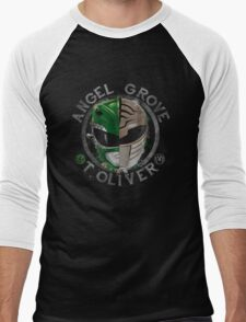 Tommy Oliver Power Rangers Men's Baseball ¾ T-Shirt