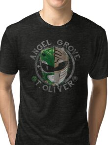 Tommy Oliver Power Rangers Tri-blend T-Shirt