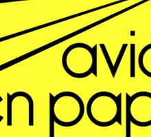 Paper Planes Extras: Yellow Sticker