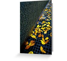 Autumn Grate Greeting Card