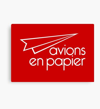 Paper Planes Extras: Red Canvas Print