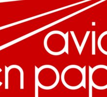 Paper Planes Extras: Red Sticker