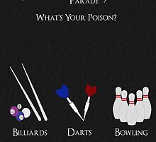 Death Parade Poster by Frostfall