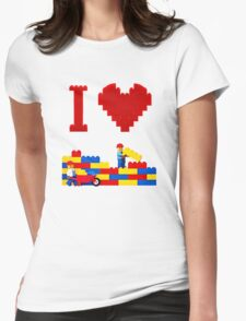 Build it Higher Womens Fitted T-Shirt